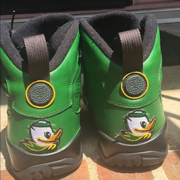 "49aacb510777e3 Jordan Other - Air Jordan 9 ""Oregon Ducks"" Custom Shoes Size 13"